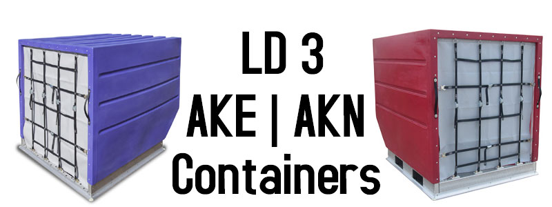 LD 3 Air Cargo Containers, AKE Containers, AKN Containers, LD 3 ULD Containers